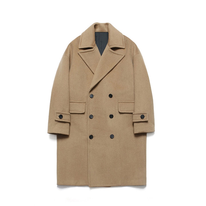 [라퍼지스토어]Wool Over Double Coat_Rich Beige