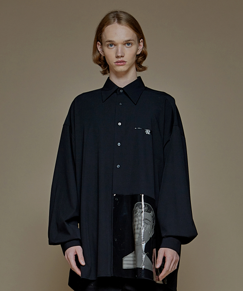 [에드]ADD PVC AVANTGARDE SHIRTS