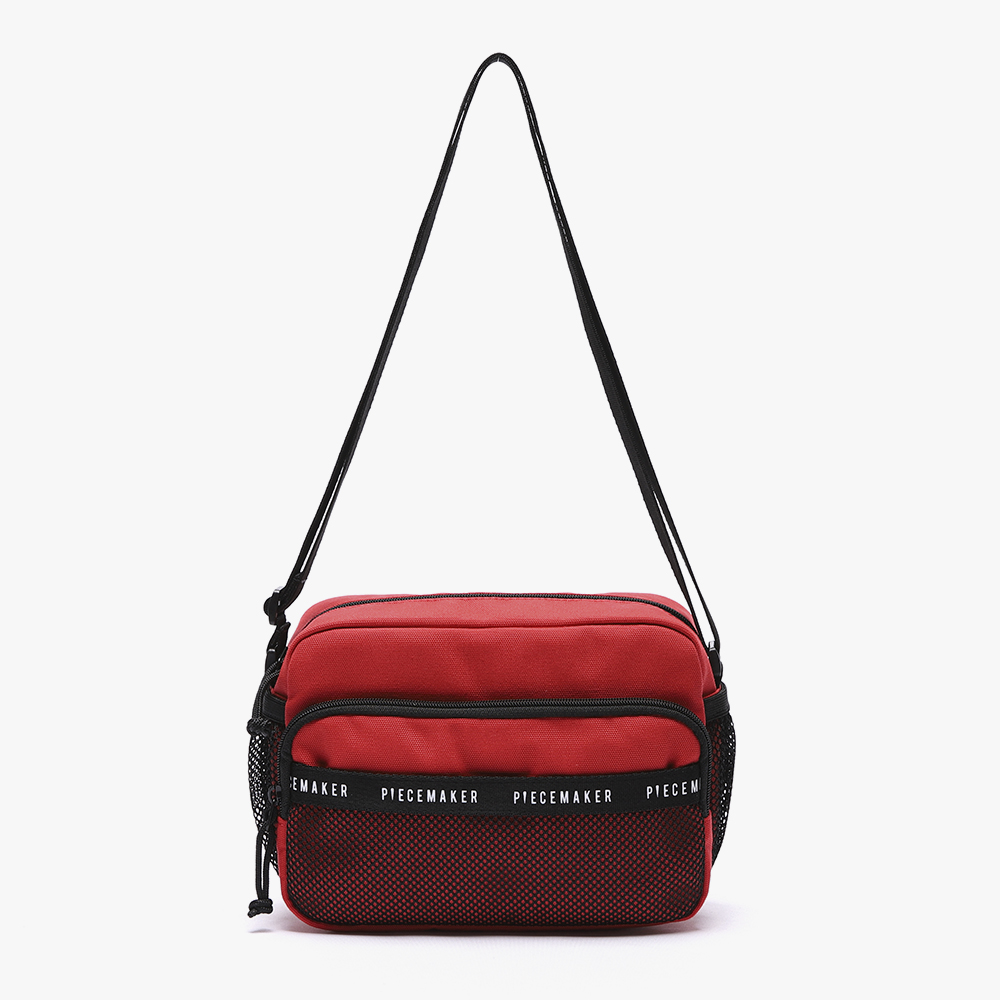 [피스메이커]REPLAY CROSS BAG (RED)