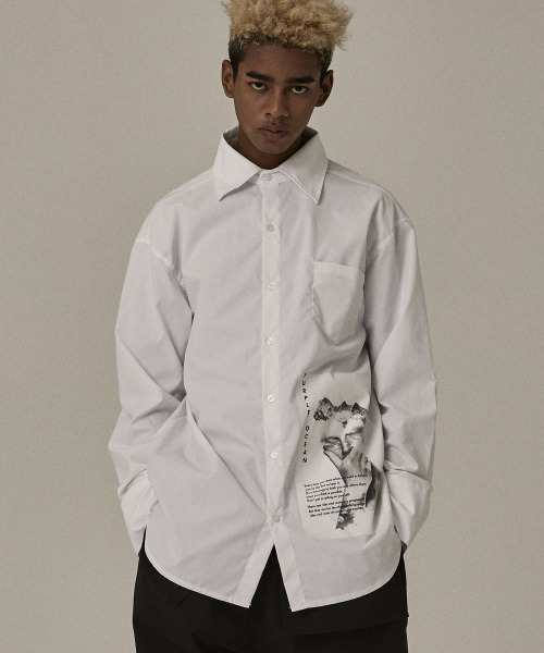 [오베르]18FW BASIC WHITE SHIRTS