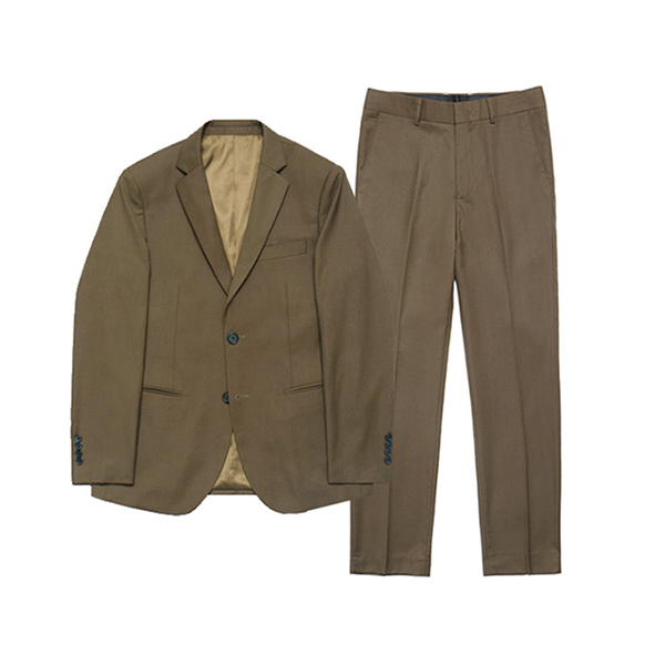 [라퍼지스토어] Metier Tapered Set-up Suit_Brown