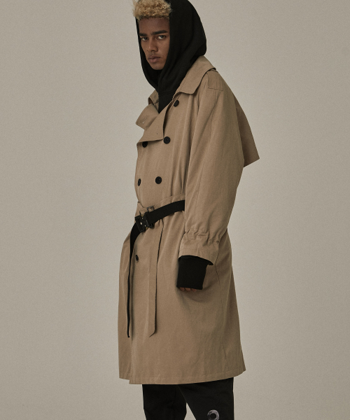 [오베르] 18FW BEIGE TRENCH COAT