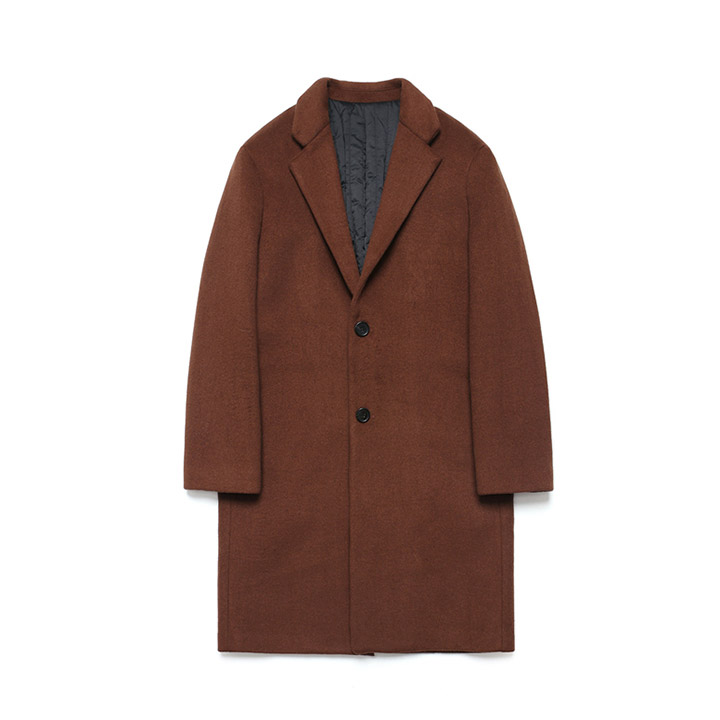 [라퍼지스토어]Wool Single Coat_Red Brick