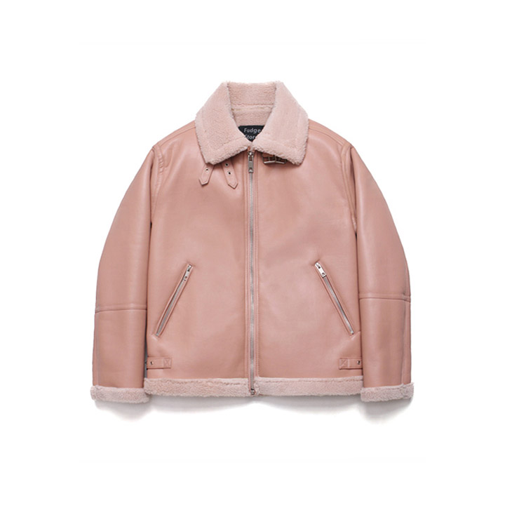 [라퍼지스토어]B3 Mouton Jacket_Quartz Pink