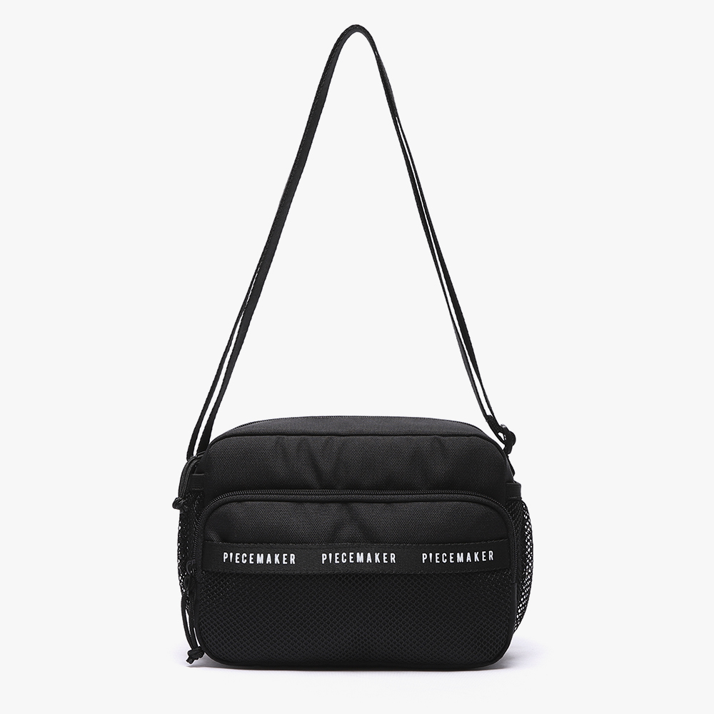 [피스메이커]REPLAY CROSS BAG (BLACK)