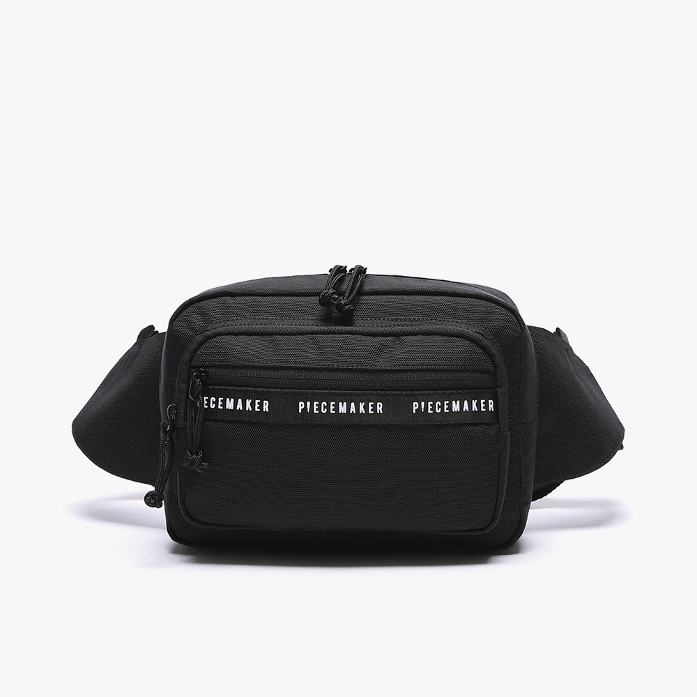[피스메이커]REPLAY WAIST BAG (BLACK)