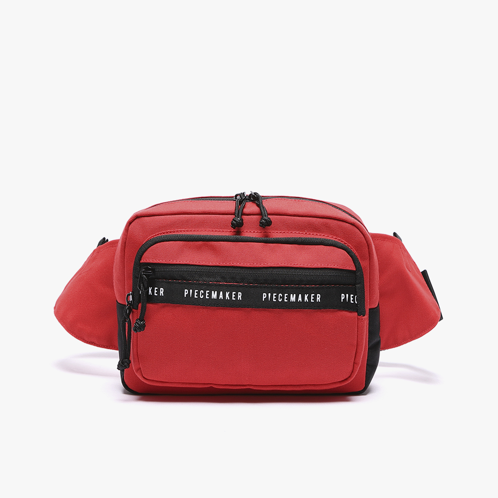[피스메이커]REPLAY WAIST BAG (RED)