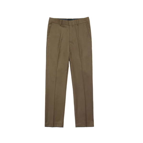 [라퍼지스토어] Metier Tapered Wool Slacks_Brown