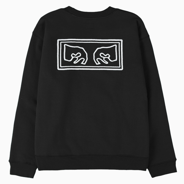 [오베이]OBEY EYES HEAVY CREW - BLACK