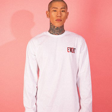 [엘티씨케이]EXIT Logo Long Sleeve - WHITE