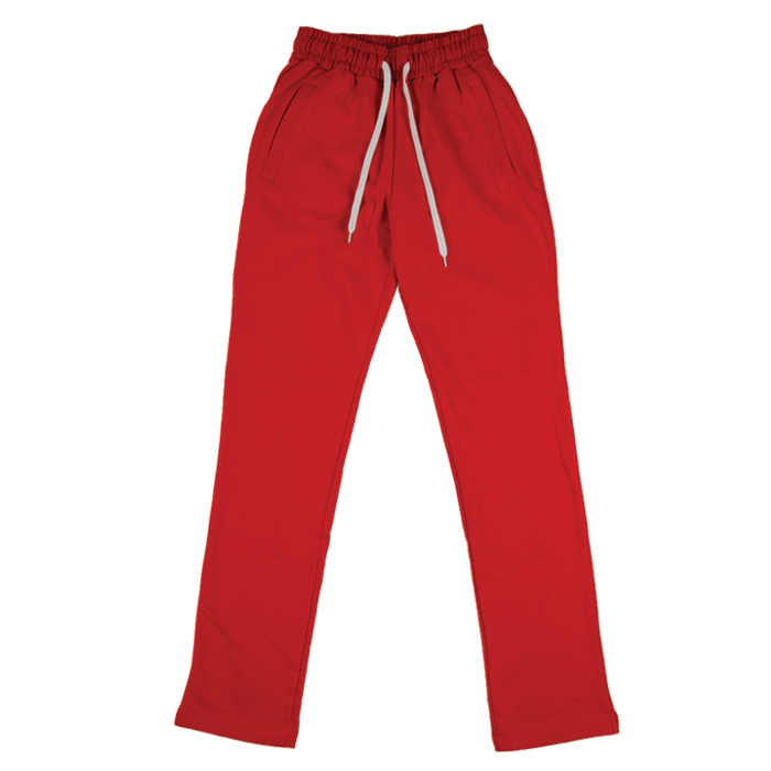 [모딕토]Loose Fit Long Pants_Red