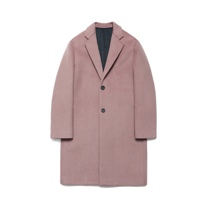 [라퍼지스토어]Wool Single Coat_Quartz Pink