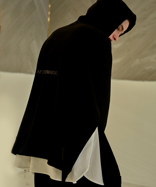 [에드]AFTERIMAGE SIDE SLIT HOODIE