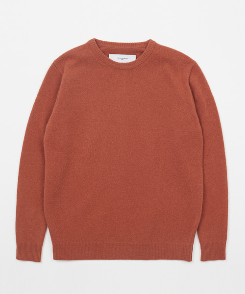 [모노소잉]CASSIMERE SWEATER(ROSE WOOD)
