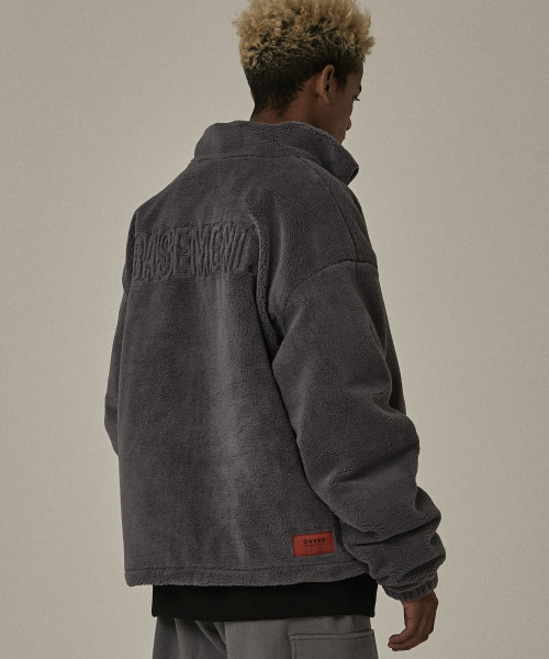 [오베르]18FW BS GRAY LANITAL JACKET