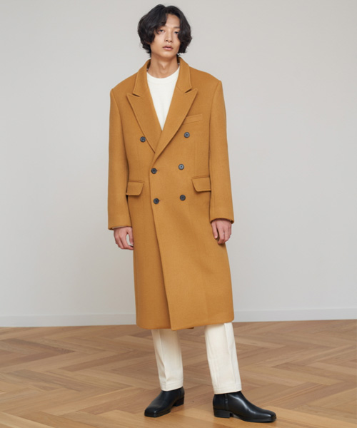[에스티유]Double coat camel