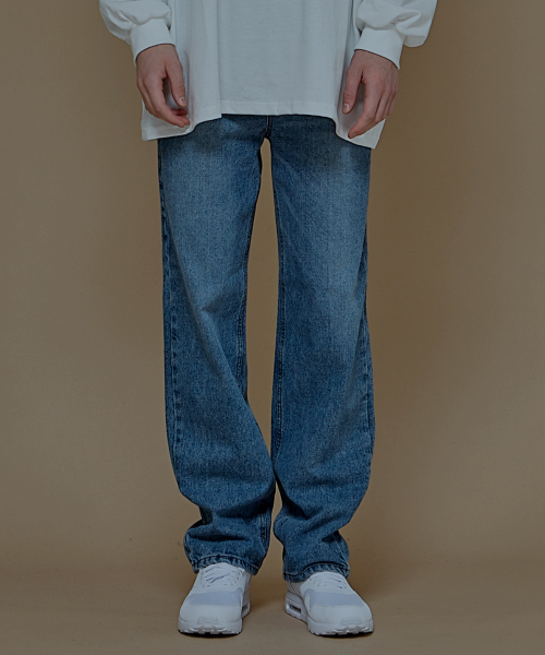 [에드]SIGNATURE LONG WIDE DENIM