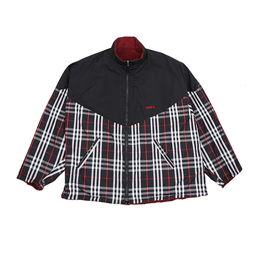 [아조바이아조] Reversible Check Jumper [Black]
