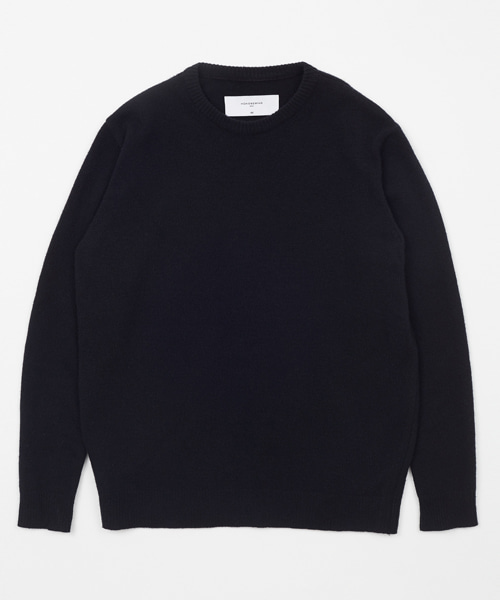 [모노소잉]CASSIMERE SWEATER(BLACK)