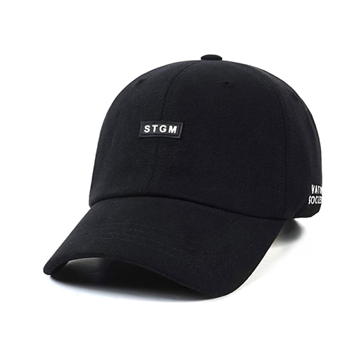 [스티그마]STIGMA STGM OXFORD WASHING BASEBALL CAP BLACK