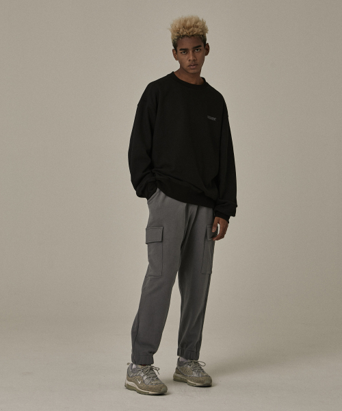 [오베르]18FW GRAY CARGO PANTS