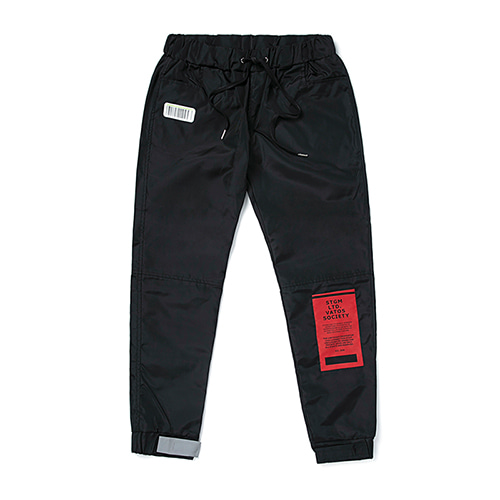 [스티그마]STIGMA TIGER BENDING JOGGER PANTS BLACK