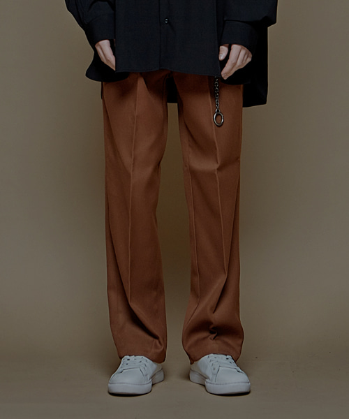 [에드]SUPER WIDE SLACKS_F BROWN