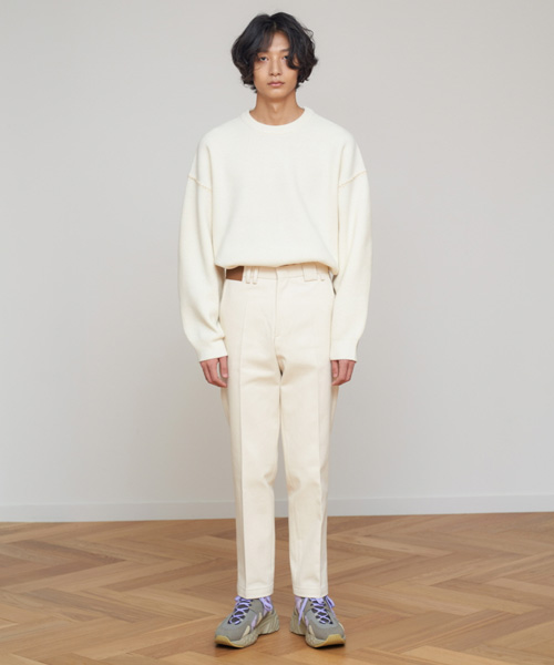 [에스티유]Cotton pants ivory