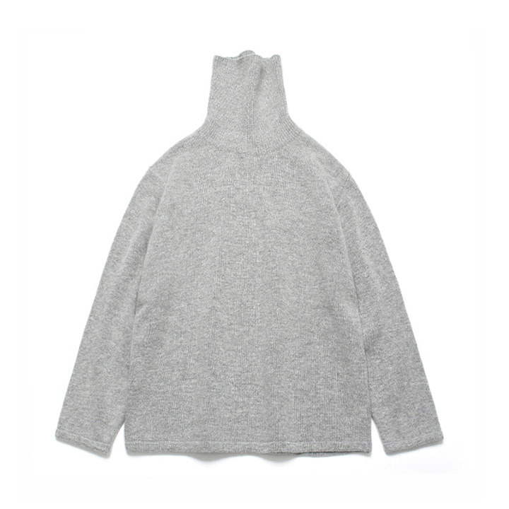 [라퍼지스토어] (Unisex)Cashmere Wool Polo Neck Knit_Cloud