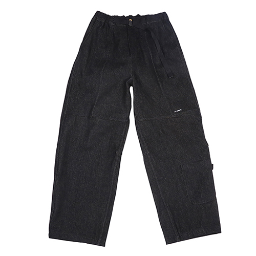 [아조바이아조]Painter Denim Pants [Black]
