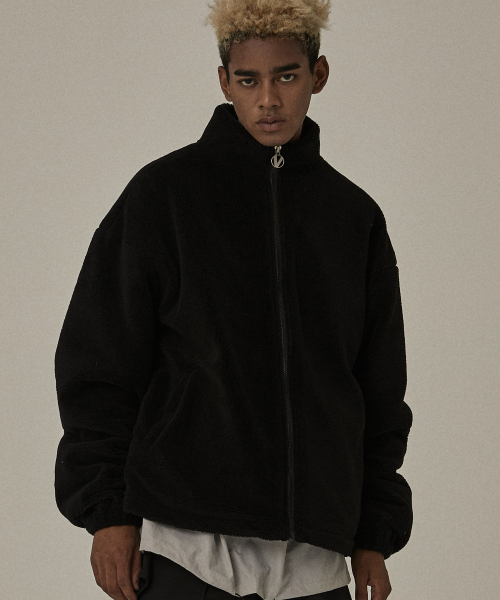 [오베르]18FW BS BLACK LANITAL JACKET