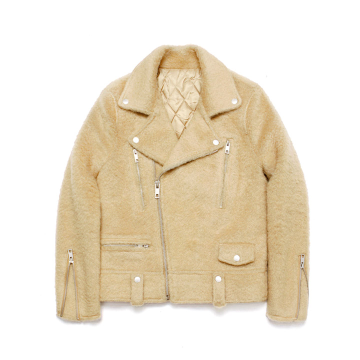 [라퍼지스토어]Teddy Bear Rider Jacket_Beige