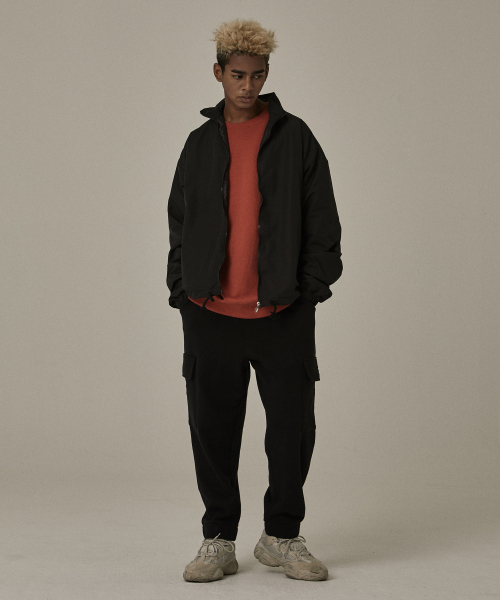 [오베르]18FW BLACK CARGO PANTS