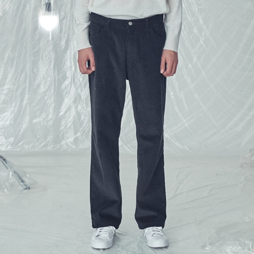 [트립르센스]LE CORDUROY WIDE FIT PANTS BLACK