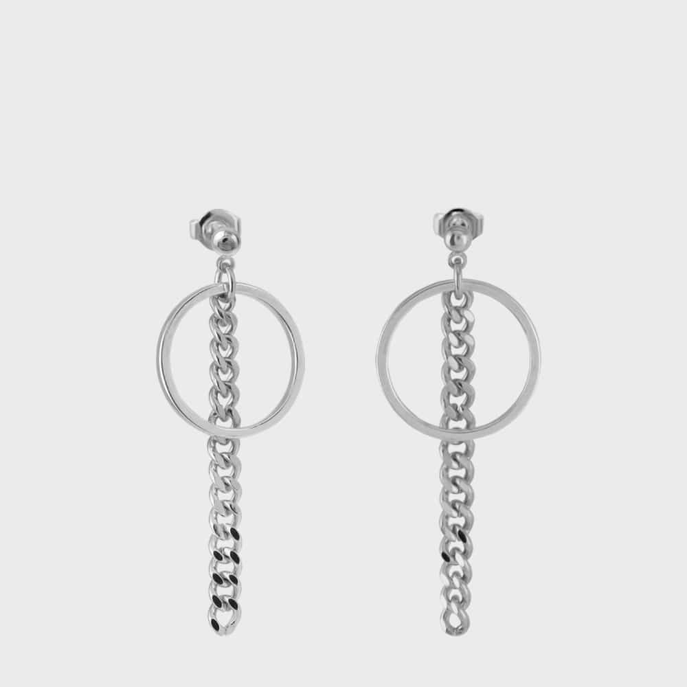 [논논] RING CHAIN EAR