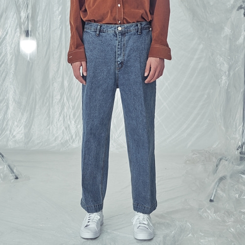 [트립르센스]LE DOUBLE POCKET DENIM PANTS BLUE