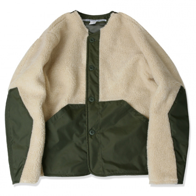 [스웰맙]Boa mechanic jacket -beige-