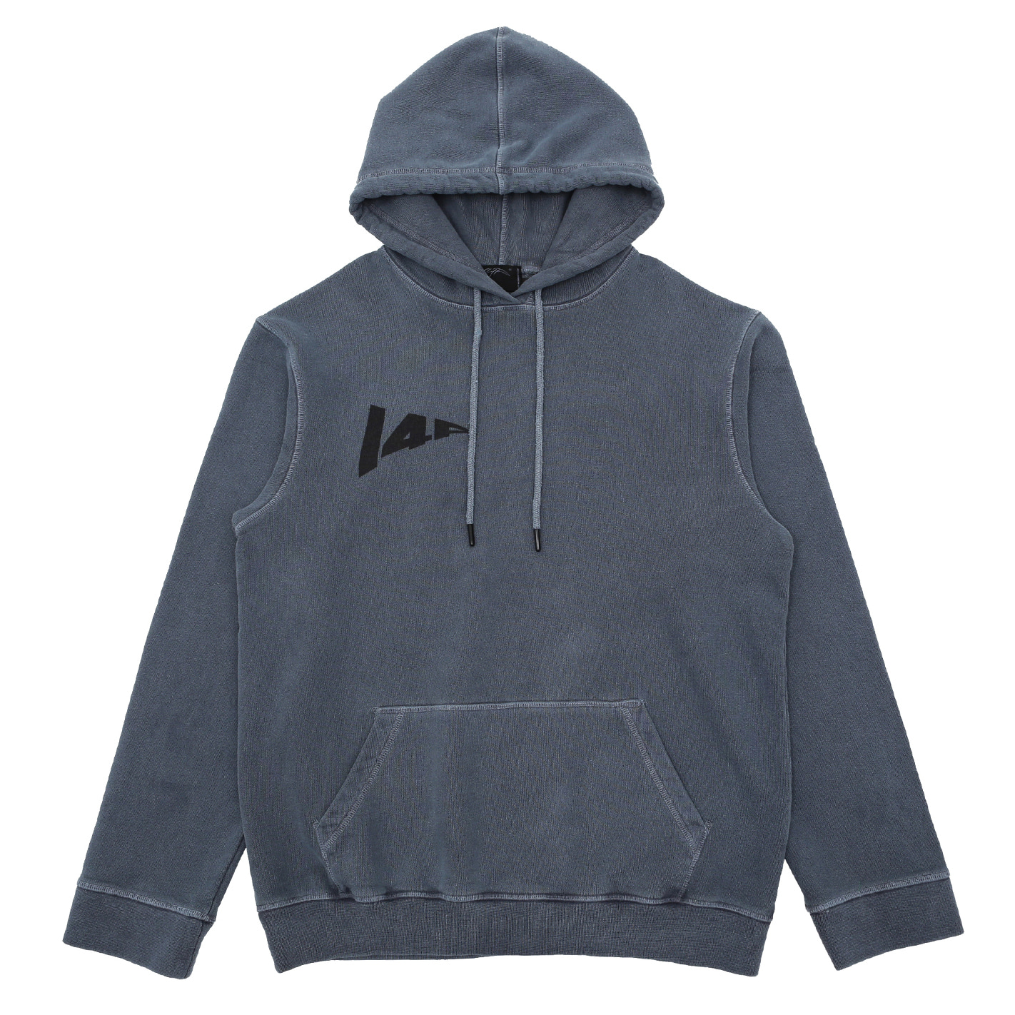[I4P]148 Washing Hood T-Shirt Gray