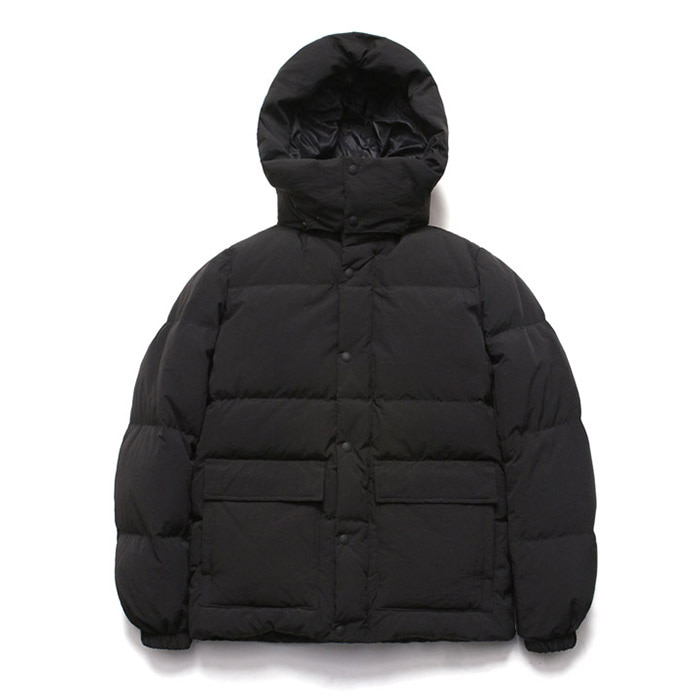 [라퍼지스토어] Duck Down Half Parka_Black