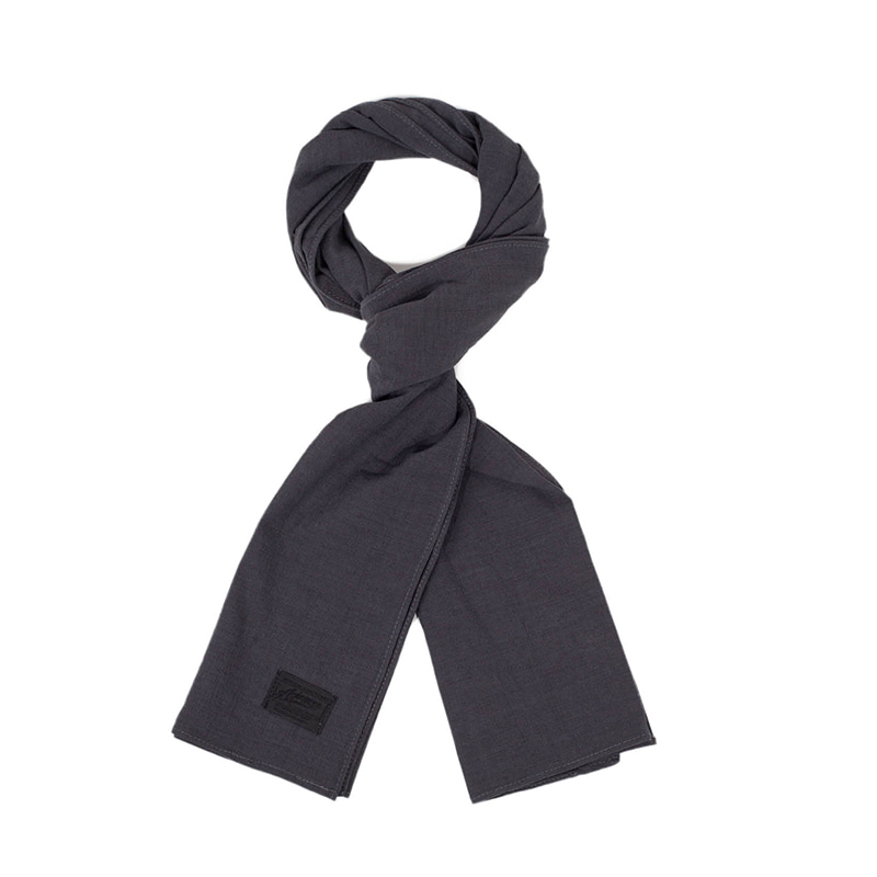 [에이징CCC]361# BASIC SCARF-GRAY