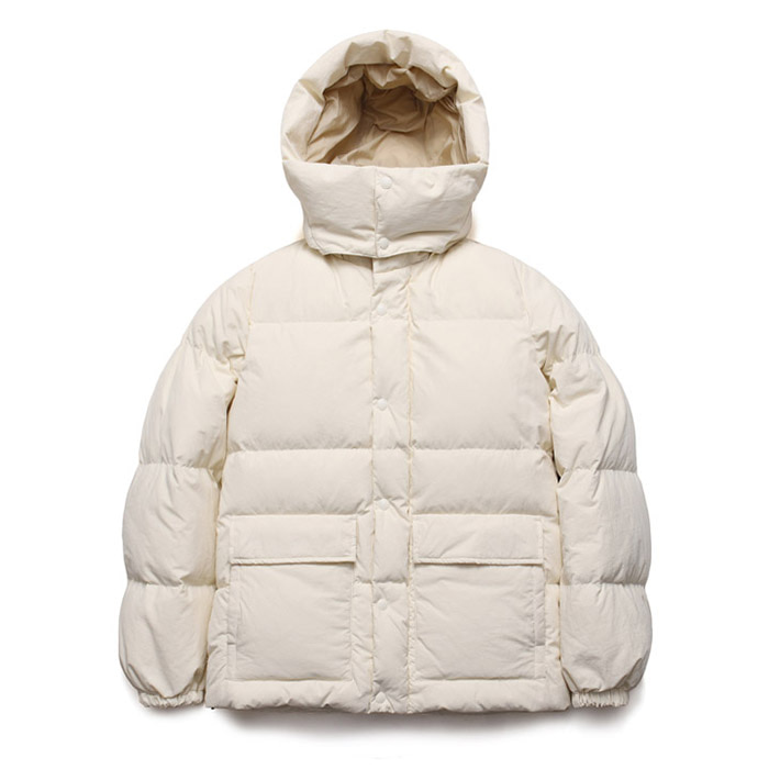[라퍼지스토어] Duck Down Half Parka_Sweet Corn