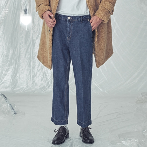 [트립르센스]LE DOUBLE POCKET DENIM PANTS NAVY