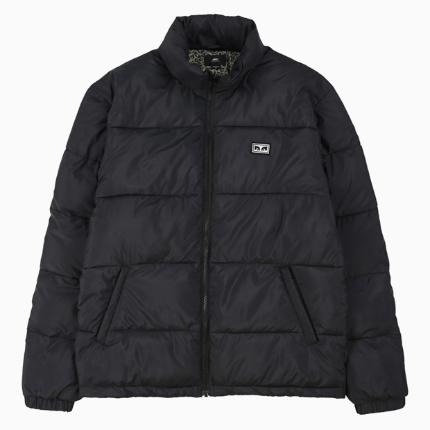 [오베이] BOUNCER PUFFER JACKET - BLACK 숏패딩
