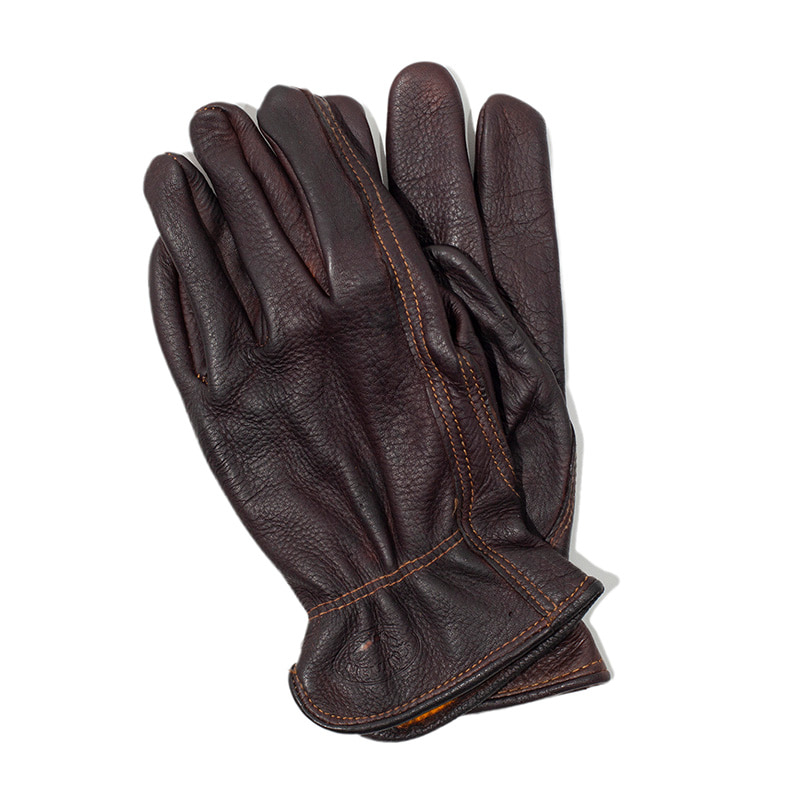 [에이징CCC]HAND DYEING DRIVERS GLOVES-DARK BROWN