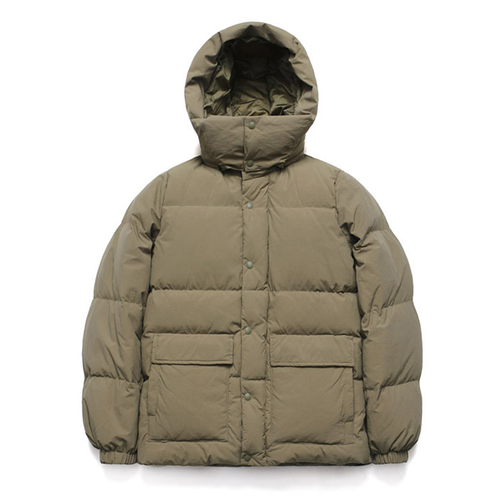 [라퍼지스토어] Duck Down Half Parka_Martini Olive