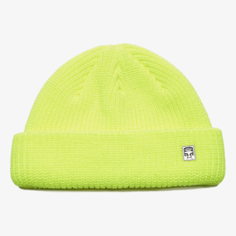 [오베이]MICRO BEANIE - BRIGHT GREEN 비니