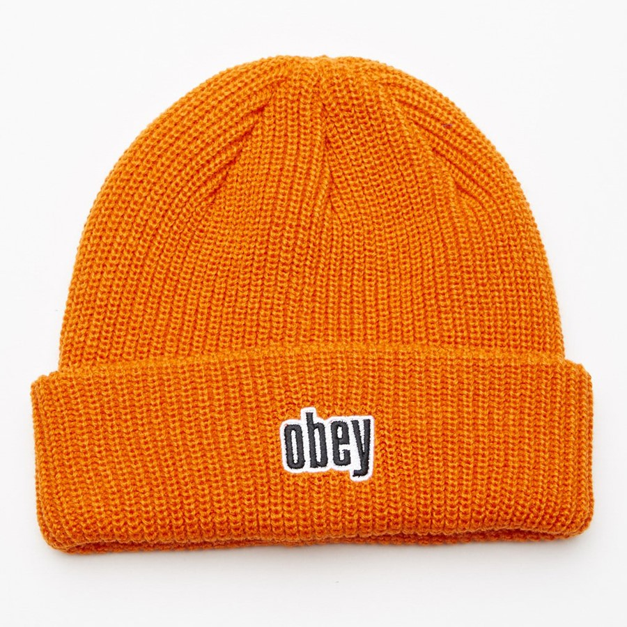 [오베이]JUNGLE BEANIE - ORANGE 비니