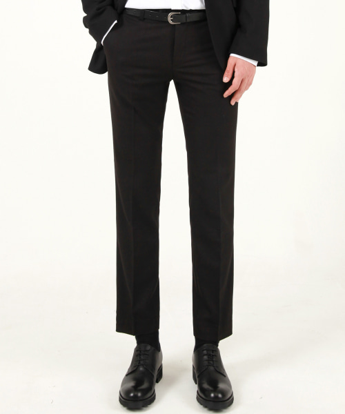 [모디파이드]M#1676 wool set-up single slacks