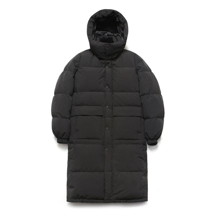 [라퍼지스토어] Duck Down Bench Parka_Black