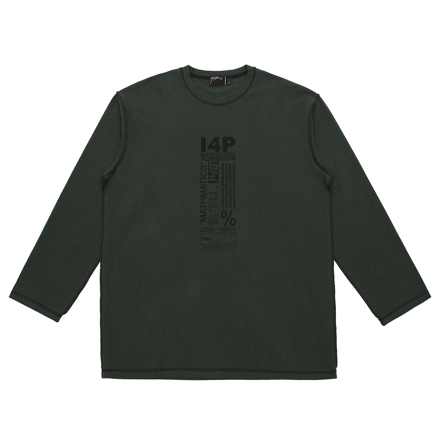 [I4P]I4P Stitch Long Sleeve Green